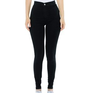 American Apparel black easy jeans size XS.